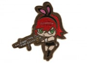 Mil-Spec Monkey Bunny Girl Patch (Subdued)