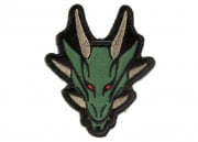 MM Dragon Head Patch (Forest)