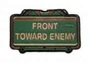 MM Front Toward Enemy Velcro Patch ( OD )