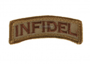 MM Infidel Velcro Patch ( Tan )