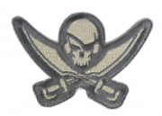 MM Pirate Skull Diecut Patch (ACU)