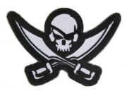 MM Pirate Skull Diecut Patch ( SWAT )