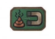 MM Poop Magnet Velcro Patch (forest)