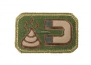 MM Poop Magnet Velcro Patch (Arid)