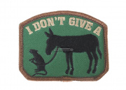 MM I Dont Give A... Velcro Patch ( OD )