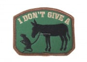 MM I Don't Give A... Velcro Patch (Forest)