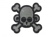 MM Monkey Skull & Bones Velcro Patch ( Foliage Green )