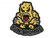 MM Fun Sponge Velcro Patch