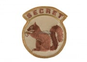 MM Secret Squirrel Velcro Patch ( Tan )
