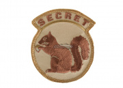 MM Secret Squirrel Velcro Patch (Desert)