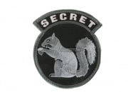 MM Secret Squirrel Velcro Patch ( SWAT )