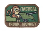 Mil-Spec Monkey Trunk Monkey Velcro Patch (OD Green)