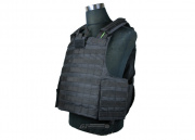 * Discontinued * Condor Outdoor Tear Away Plate Carrier (Black/Tactical Vest)