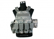 Condor Outdoor Plate Carrier Combat Set (ACU/Tactical Vest) ONLINE ONLY