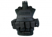 Condor Outdoor Plate Carrier Combat Set (Black) ONLINE ONLY