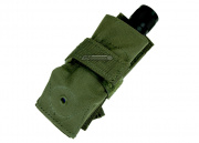 Condor Outdoor Flashlight Molle Pouch (OD Green)
