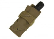 Condor Outdoor Flashlight Molle Pouch (Tan)