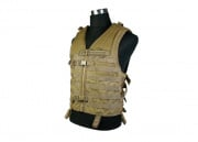 Condor/OE TECH Molle Tactical Vest (TAN)