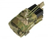 Condor Outdoor MOLLE Single Open Top Stacker M4/M16 Pouch (Multicam)