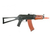 (Discontinued) TSD Tactical Gen II Full Metal/Wood AKS-74U Airsoft Gun