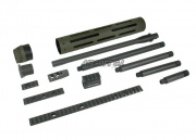 Madbull JP Rifle Conversion Kit OD (LONG)