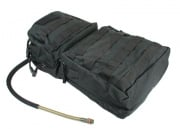 Condor / OE TECH MOLLE Hydration Carrier w/ Zipper Pockets ( BLK )