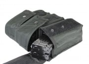 Condor Outdoor MOLLE Triple AK Magazine Pouch (Black)