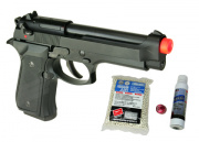 KWA Full Metal M9 PTP Airsoft Pistol Player Package
