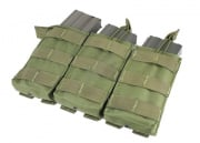 Condor Outdoor MOLLE Open Top Triple M4/M16 Pouch (OD)