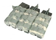 Condor / OE TECH MOLLE Open Top Triple M4 / M16 Pouch ( ACU )