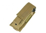 Condor Outdoor Molle Single Pistol Magazine Pouch (Tan)