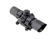 "Leapers TACTEDGE 7"" TACTICAL CQB RED/GREEN DOT SCOPE"