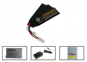 SOCOM Gear 11.1v 1500mAh 3s LiPO Tri-Panel Battery Package (Battery, Charger & Liposack)