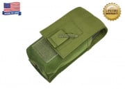 Specter Single M16 1x2 Magazine MOLLE Pouch (OD Green)