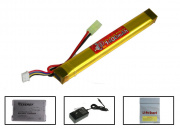 (Discontinued) TSD 11.1V 1400mah LiPo Stick Battery Package (Battery, Charger & Liposack)
