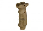 Guarder Ergonomic Vertical Tactical Foregrip (Tan)