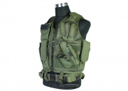UTG 547 Law Enforcement Tactical Vest (OD Green)