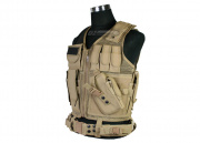 (Discontinued) UTG Tactical Vest (Tan)