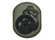MM Berserker PVC Patch (Forest)