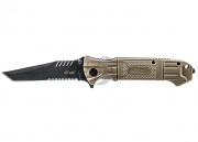 Walther Tactical Black Tac Tanto Folding Knife (DEB)