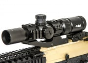 AIM Sports 1.5-4x30 Tri Illumination CQB Scope With Locking Turrets (Arrow Reticle)