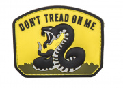 5ive Star Gear Don't Tread On Me PVC Patch (Yellow)