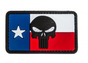 5ive Star Gear Texas Flag Punisher PVC Patch