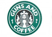 5ive Star Gear Guns And Coffee PVC Patch