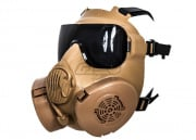 Lancer Tactical CBRN Style EM50 Face Mask (Coyote Brown)