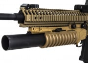 UK Arms Quick Detach Long M203 Launcher  RIS Mounted (Tan)