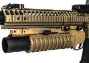 UK Arms Quick Detach Short M203 Launcher  RIS Mounted (Tan)