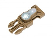 FMA S-Lite Mil-Spec Side Release Buckle Strobe Light (Dark Earth/Red Light)