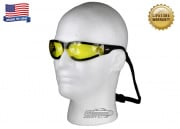Bobster Shield 3 Sunglasses w/ Anti-fog Yellow Lenses