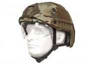 Lancer Tactical Helmet PJ Type w/ Retractable Visor (Medium/Modern Camo/Basic Version)